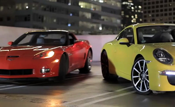 [VIDEO] Motor Trend's New Head2Head Pits the Corvette Grand Sport VS Porsche 911 Carrera S