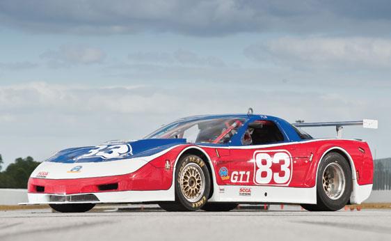 Paul Newman's Last Corvette Racer Headed to RM's Amelia Island Auction