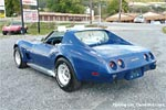 1977 Corvette Dark Blue
