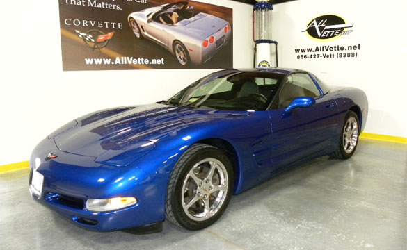 New Midnight Race Blue Color Option Coming to the 2013 Corvette