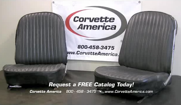Corvette America's Seat Cover Restoration Videos