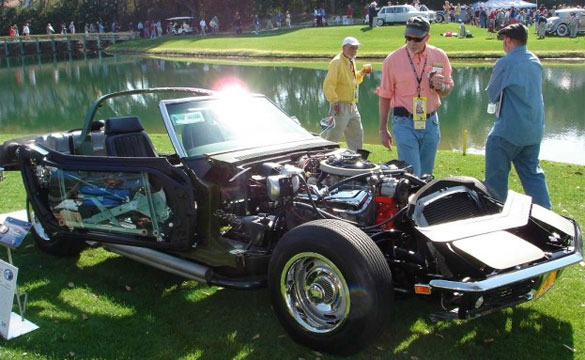 [VIDEO] Kevin Mackay's 1969 L88 See-Thru-Corvette