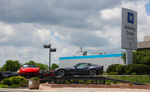 Corvette Assembly Plant Announces Suspension
