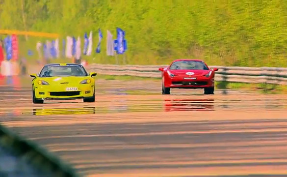 Ferrari 458 vs 750-hp Corvette ZR1 Lingenfelter, Nissan GT-R and Audi RS6