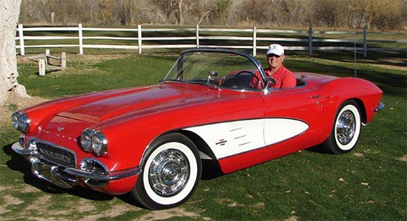 Students Help Restore a 1961 Corvette Roadster