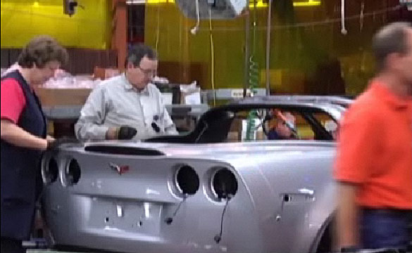 [VIDEO] Corvette Assembly Plant Reveals Future Plans