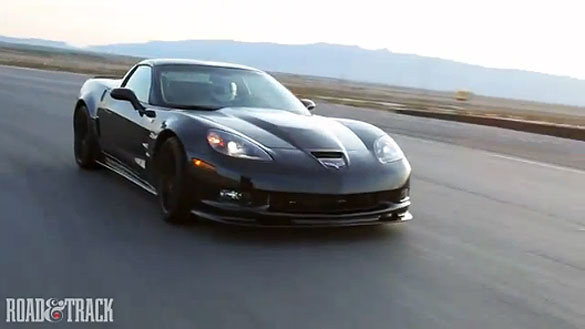 [VIDEO] Road & Track Tests Corvette's Performance Traction Management System