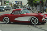 [VIDEO] Black Eyed Peas Will.i.am Takes Custom 1959 Corvette for a Spin