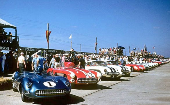 Sebring to Celebrate Corvette's Racing Heritage in Hall of Fam