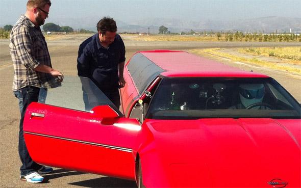 DVR Alert: C4 Corvette Limo on Top Gear USA