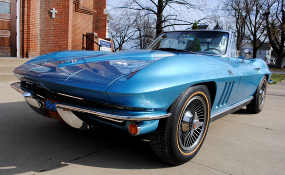 Win This Sting Ray! Saint Bernard's 2012 Classic Corvette Giveaway