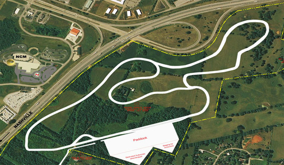 Corvette Museum's Zoning Request for Motorsports Park Clears Next Hurdle