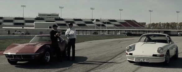 [VIDEO] A Mile in His Shoes: Porsche vs Corvette