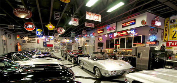 Filmmaker Michael Brown Shows Off His Texas Corvette Collection