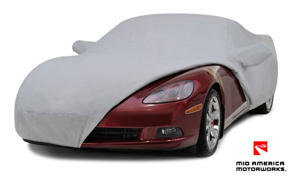 Mid America Motorworks Introduces New Diamond 5 Layer Corvette Car Cover