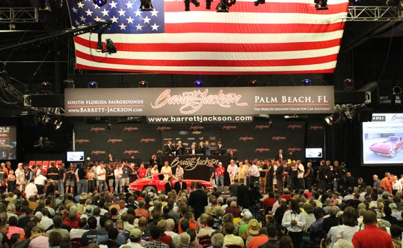 Barrett-Jackson Palm Beach: Corvette Sales Total $1.98 Million
