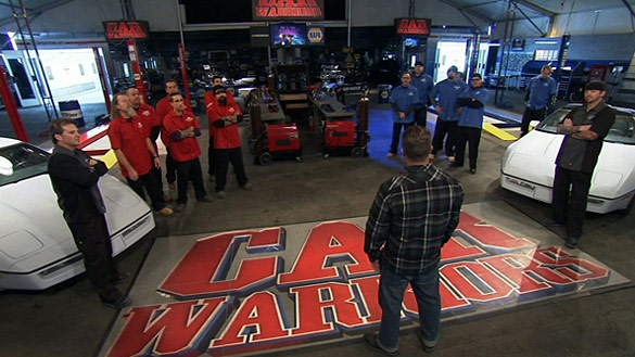 Watch Car Warriors this Wednesday and Win a S