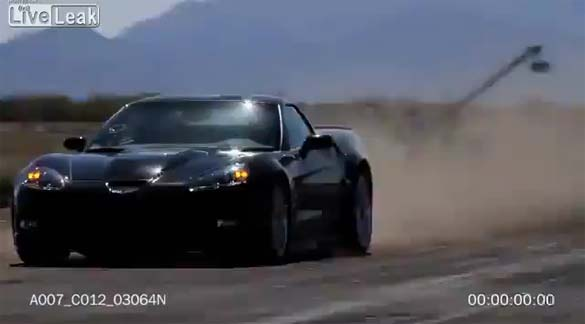 [VIDEO] Helicopter Crashes While Filming Corvette ZR1 Stunt for To