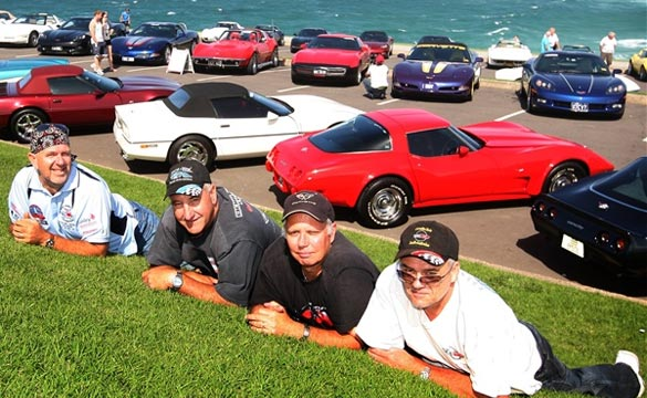 Corvettes Shine at Australia's National Corvette Convention