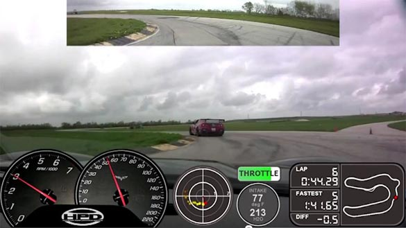 [VIDEO] Corvette Z06 Plays Cat and Mouse with a Nissan GT-R at TX2K12