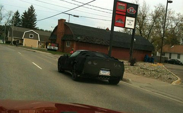 [VIDEO] C7 Corvette Prototypes Spotted Driving On Michigan Streets