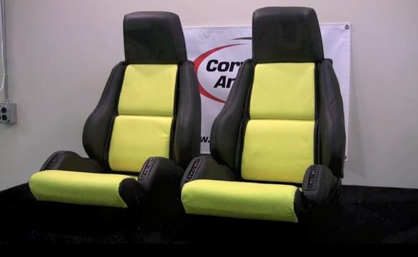 [VIDEO] Corvette America Reconditions a Set of C4 Corvette Seat