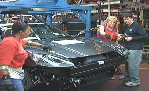 Recovered Quadriplegic Spends Day Living Out His Dream At Corvette_Plant