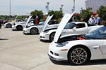 [PICS] 2013 Arctic White Corvettes on Dispay at the NCM Bash