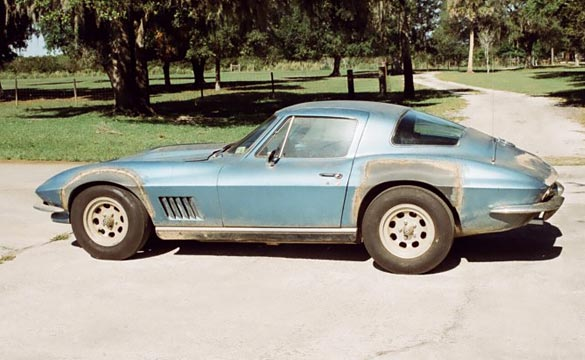 Neil Armstrong's 1967 Corvette Still for Sale
