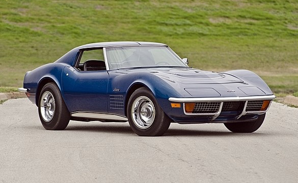 1968 To 1972 Corvettes For Sale >> Mecum to Offer Rare 1972 Corvette ZR1 at Indianapolis Sale ...