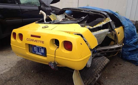 [ACCIDENT] Indiana Teen Crashes Mom's C4 Corvette border=