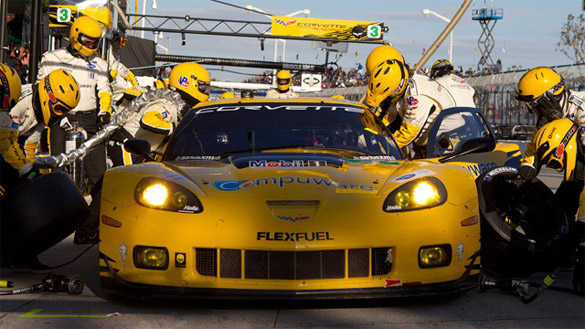Coolest Jobs in Tech: How the Data Jockeys Help the Corvette C6.Rs Win Races