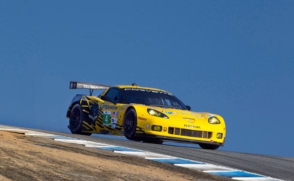 Corvettes Qualify Second and Fifth for American Le Mans Series Monterey