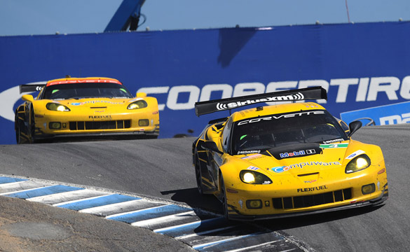 Corvette Racing Reigns in American Le Mans Series Monterey with One-Two Finish