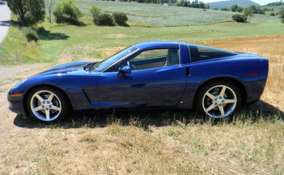 Police Looking for Le Mans Blue C6 Corvette Involved in Hit and Run Fatality