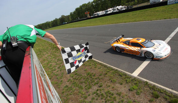 Suntrust Racing Takes Corvette DP To Victory Lane At New Jersey's Global Barter 250