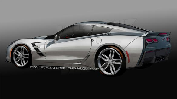 Corvette C7 Renderings