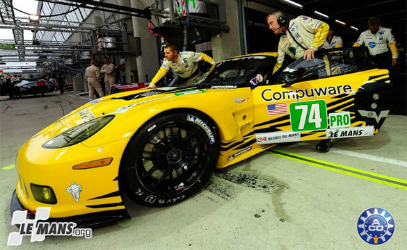Corvette Racing at Le Mans Test Day: Rites of Passage for Rookie Jordan Taylor