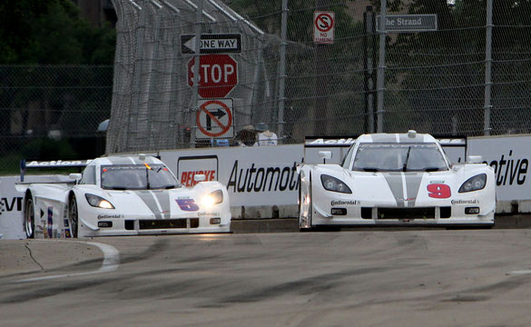 [GRAND-AM] Action Express DP Corvettes finish 1-2 at Detroit Belle Isle