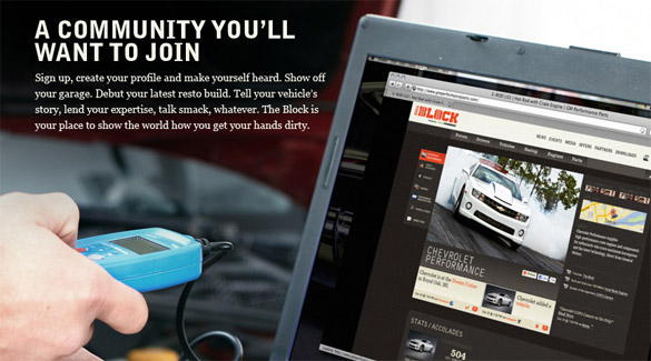Chevrolet Performance Launches The BLOCK - A New Interactive Community for Car Enthusiasts