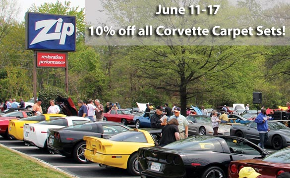 Zip has Corvette Carpet Sets on Sale for Fathers Day