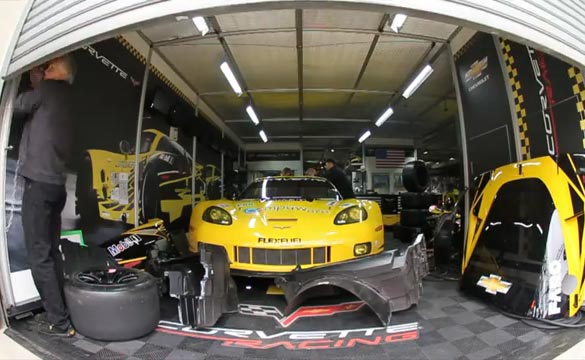 [VIDEO] Corvette Racing 'Flat Out' - 2012 24 Hours of Le Mans The Prep