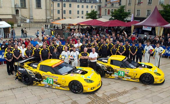 2012 Le Mans: Corvette Racing at Scrutineering