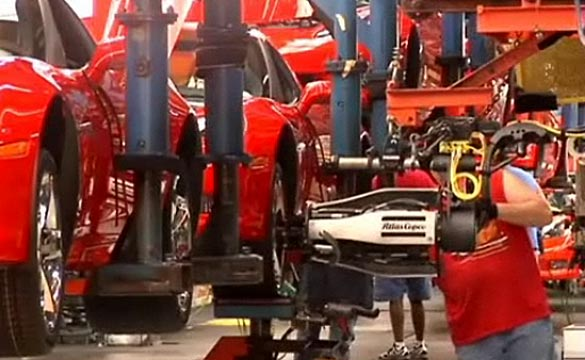 [VIDEO] Bowling Green Assembly Plant Gets Ready to Build the C7 Corvette
