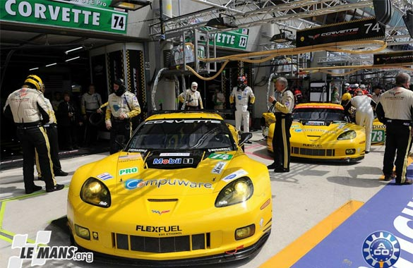 Corvette Racing on Provisional Pole for 24 Hours of Le Mans