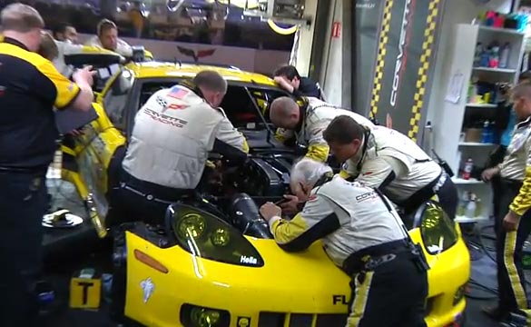 [VIDEO] Corvette Racing 'Flat Out' - 2012 24 Hours of Le Mans The Team