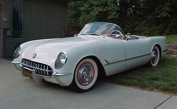 Corvettes on eBay: 1953 Corvette #244 Unrestored Survivor - Corvette
