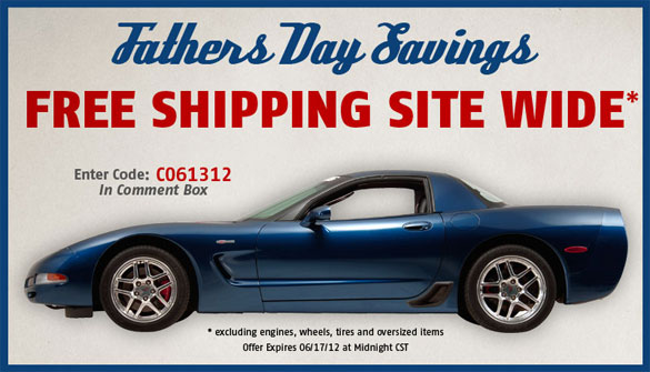 Mid America Motorworks Gives Dads a Break with Free Shipping Offer