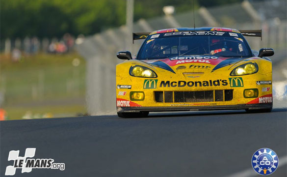 Larbre Competition's GTE-AM Corvette Defends Class Win at Le Mans