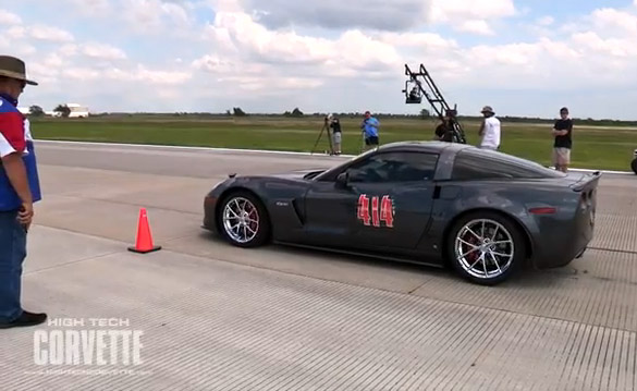 [VIDEO] Houston Mile - Kelly Bise's Supercharged Z06
